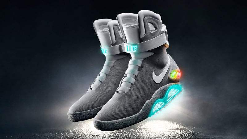 Nike BTTF II Air Mag Sneakers with Power Laces
