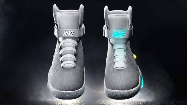 Nike BTTF II Air Mag Sneakers with Power Laces (3)