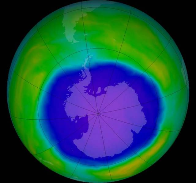 Ozone Hole grew in 2015