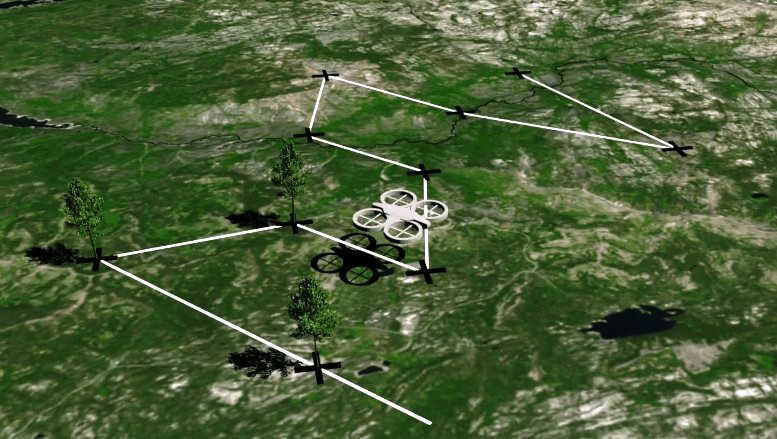 Planting One Billion Trees a year using Drones