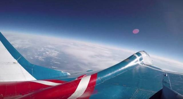 Reaching the stratosphere on a MiG-29