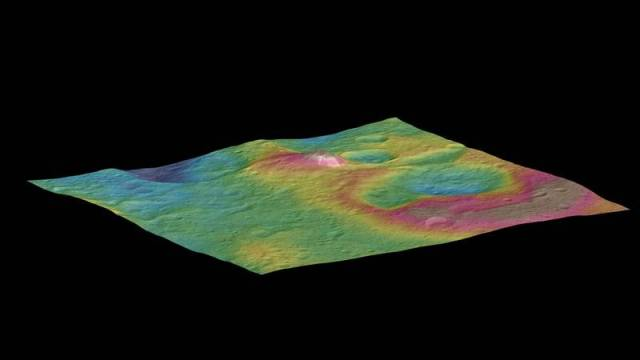 Scientists still don't know what the bright spots in Ceres are
