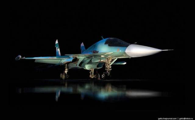 Russia's Su-34 Fullback Fighter