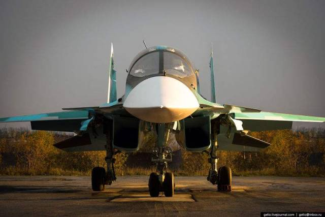 Russia's Su-34 Fullback Fighter (6)