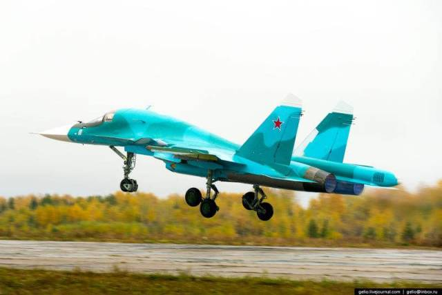 Russia's Su-34 Fullback Fighter (5)
