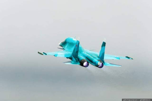 Russia's Su-34 Fullback Fighter (4)