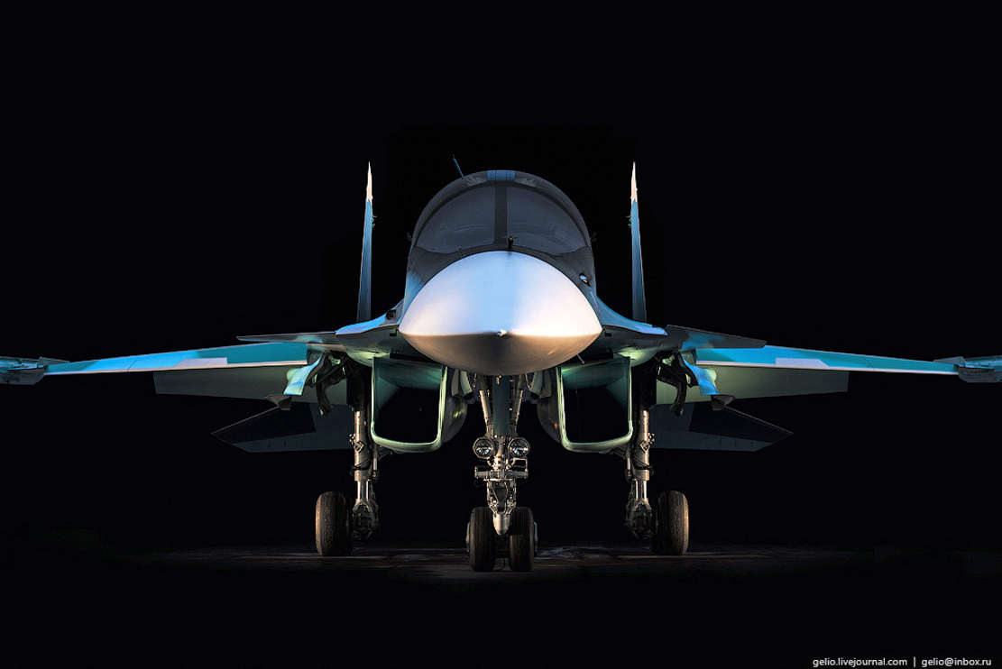 Russia's Su-34 Fullback Fighter (1)