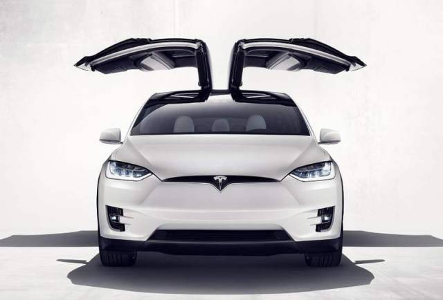 Tesla Model X electric SUV (8)