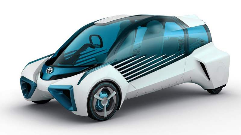 Toyota's hydrogen concept car (7)