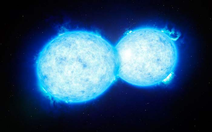 Two Stars heading for enormous Catastrophe