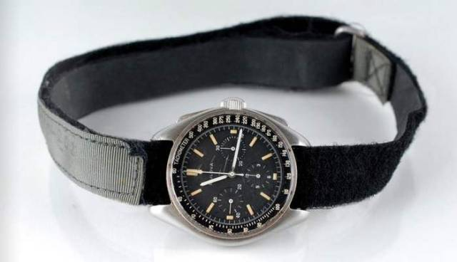 Bulova wrist Chronograph watch worn on the Moon in 1971