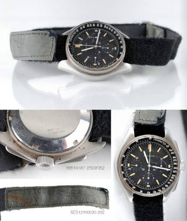 Bulova wrist Chronograph watch worn on the Moon in 1971 (3)