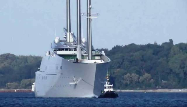 'White Pearl,' word's largest sailing yacht