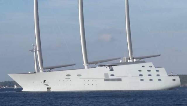 'White Pearl' word's largest sailing yacht (1)