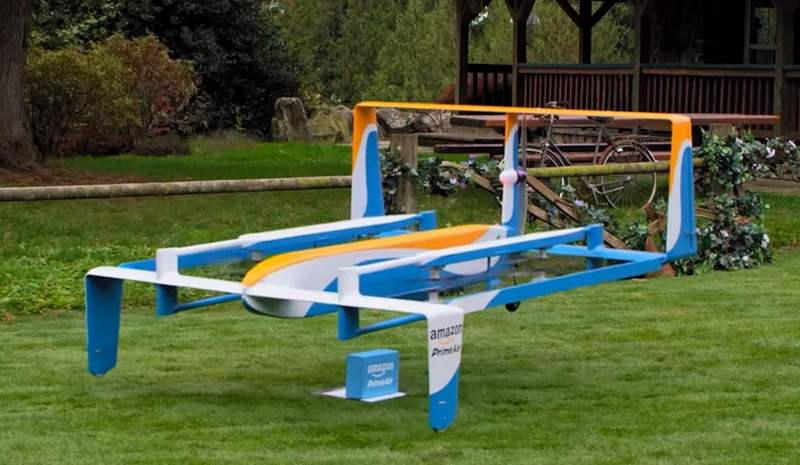 Amazon's new Delivery Drone (3)