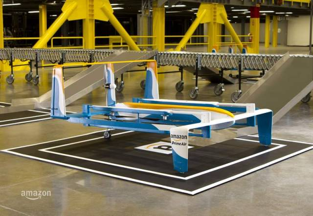 Amazon's new Delivery Drone (2)