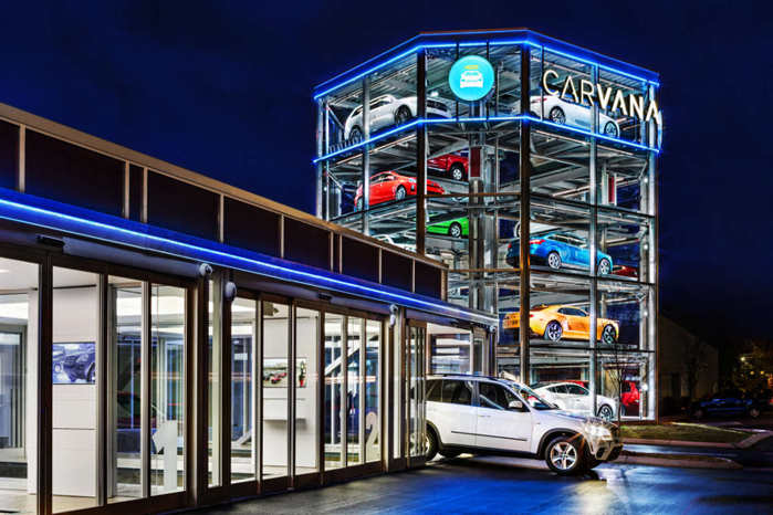 Automated Car Vending Machine