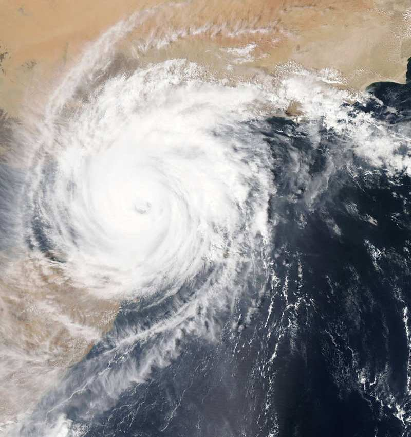 Cyclone Chapala over the Gulf of Aden 1