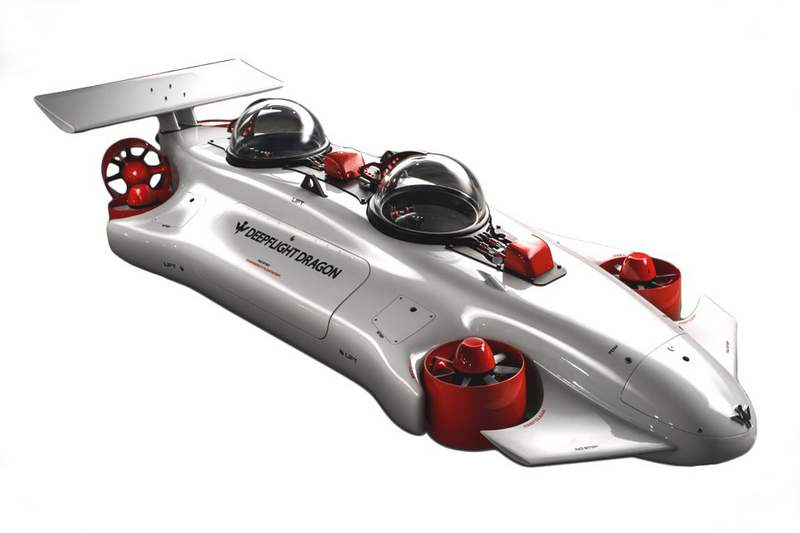 Deepflight Dragon personal submersible (6)