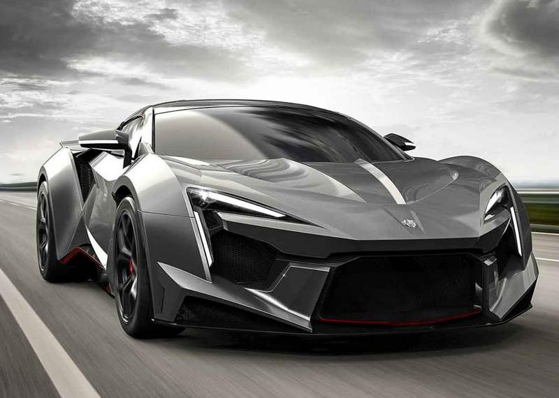 wordlessTech | Fenyr SuperSport car