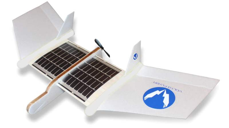 Wordlesstech First Solar Powered Airplane For Kids