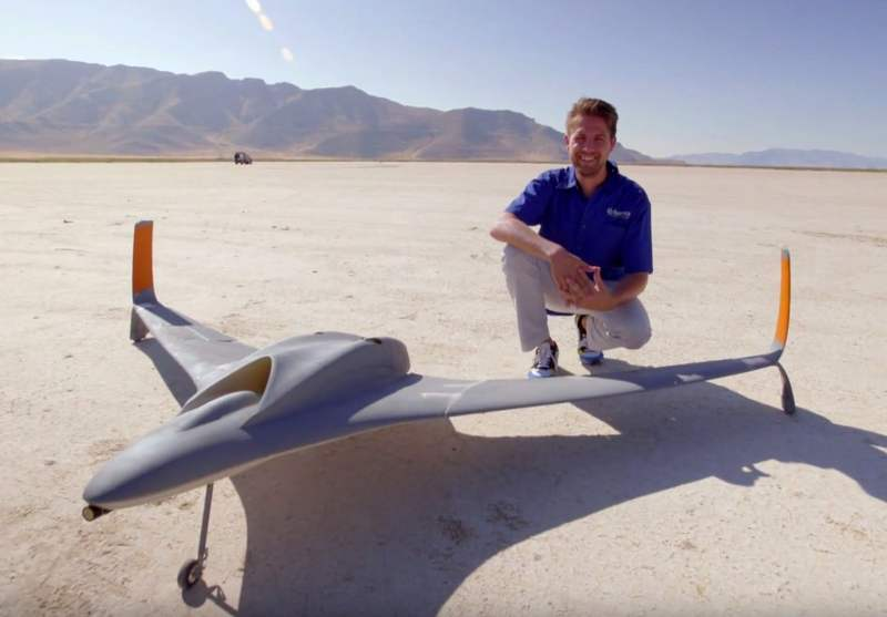 First jet-powered 3D-printed UAV