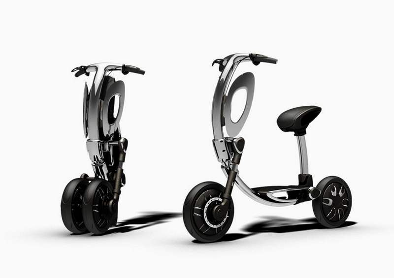 Inu foldable scooter (4)