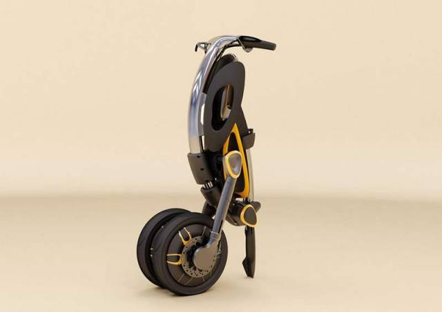 Inu foldable scooter (3)