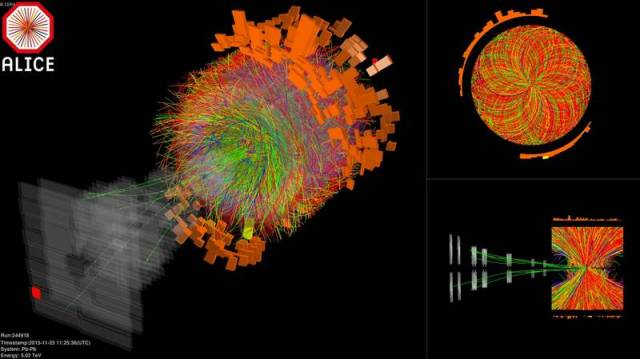LHC Re-creates First Moments Of The Universe (2)