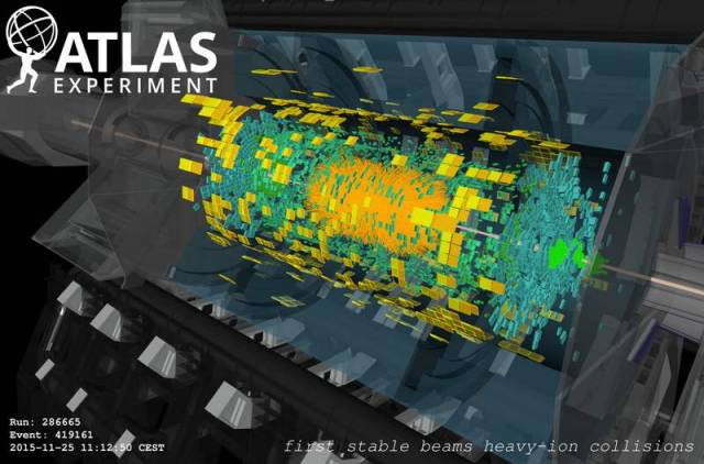 LHC Re-creates First Moments Of The Universe (3)