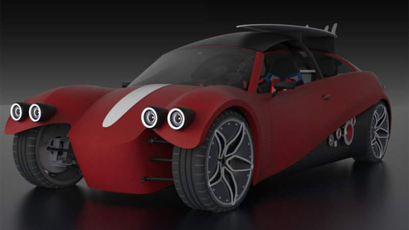 Wordlesstech local motors wants to recycle your 3d for Local motors 3d printed car