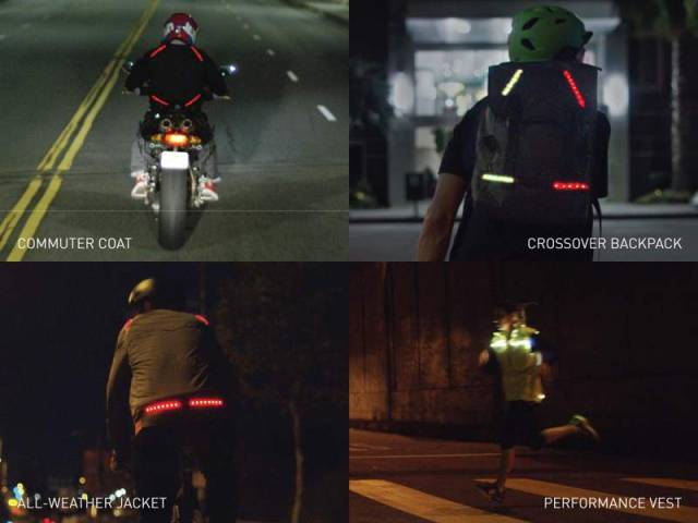 Lumenus smart Light-Up bike Jacket (1)