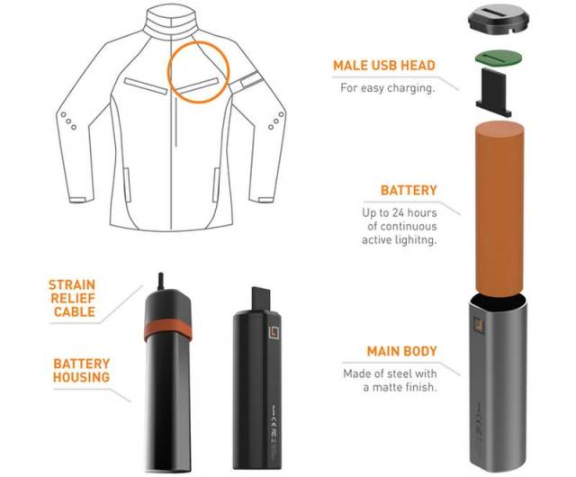 Lumenus smart Light-Up bike Jacket (2)