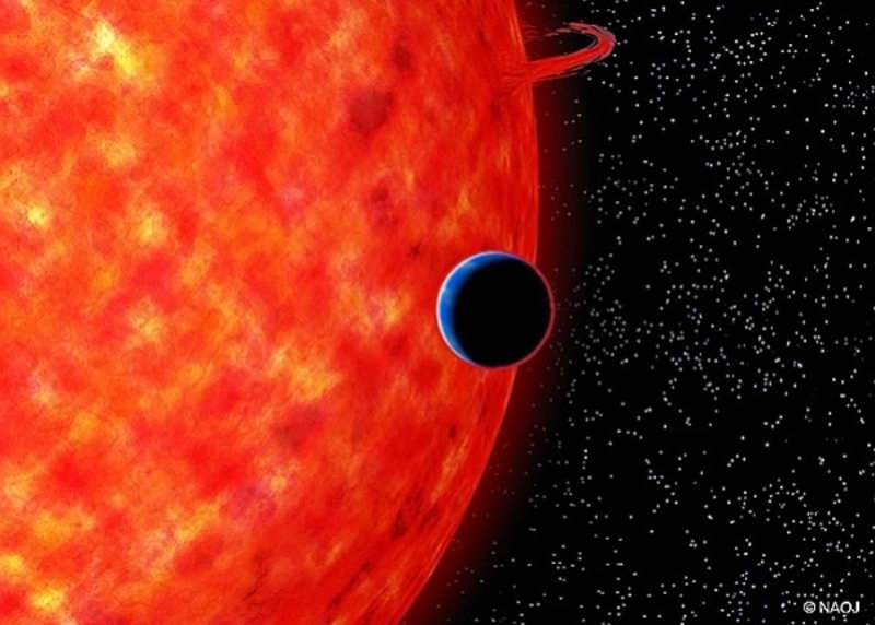 GJ 3470b is a warm Neptune-size planet