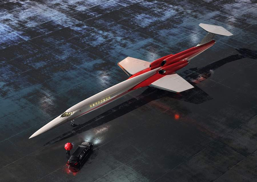 Aerion AS2 Supersonic private jet (14)