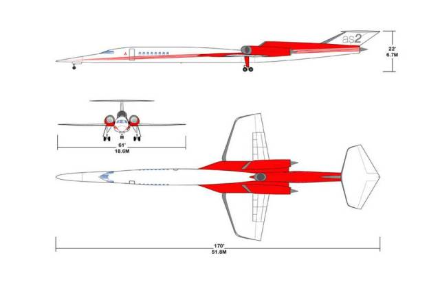 Aerion AS2 Supersonic private jet (3)