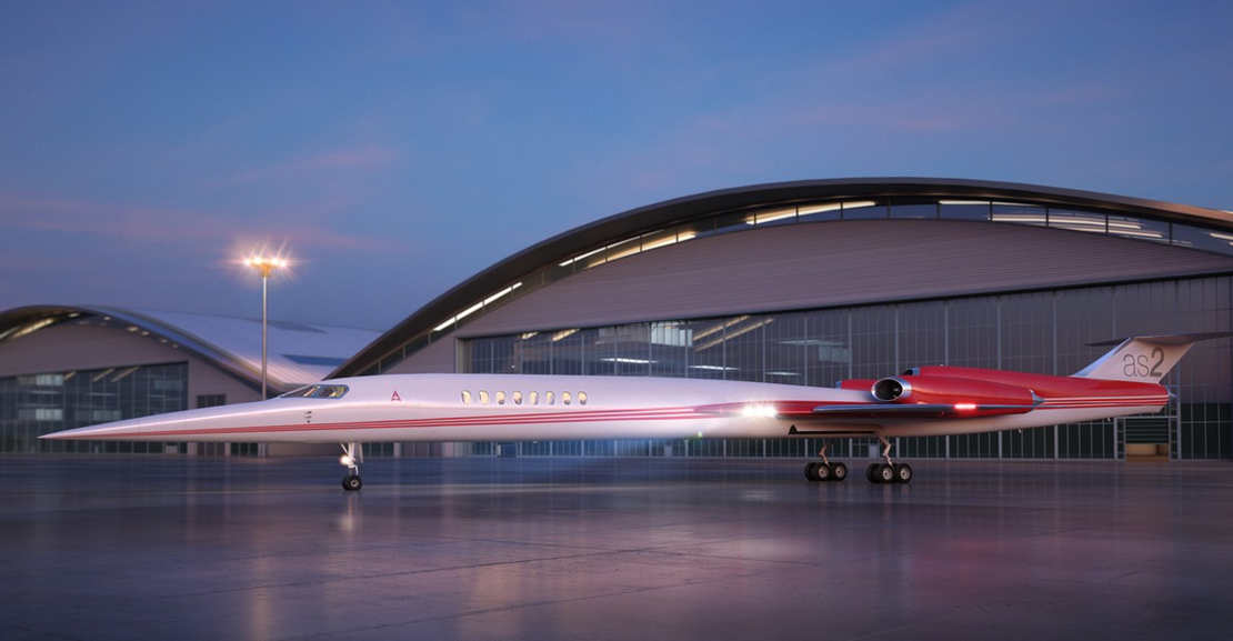 Aerion AS2 Supersonic private jet (1)