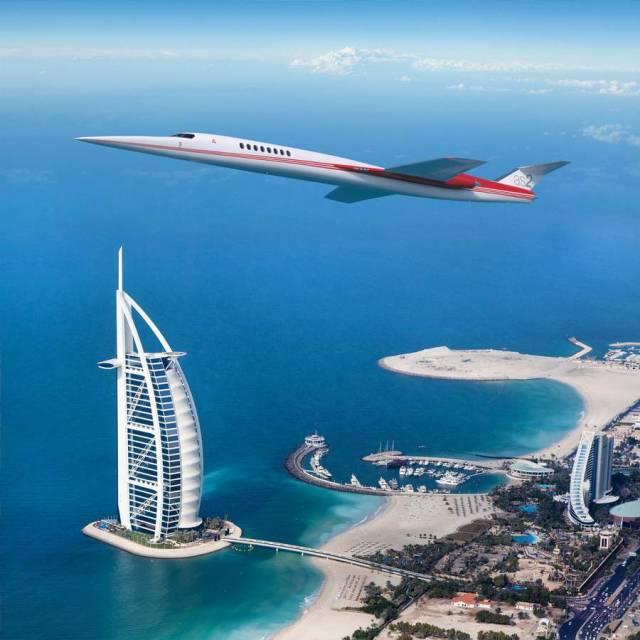 Aerion AS2 Supersonic private jet (13)