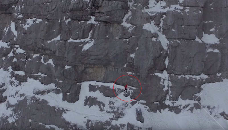 New Speed Climbing Record Eiger 2015