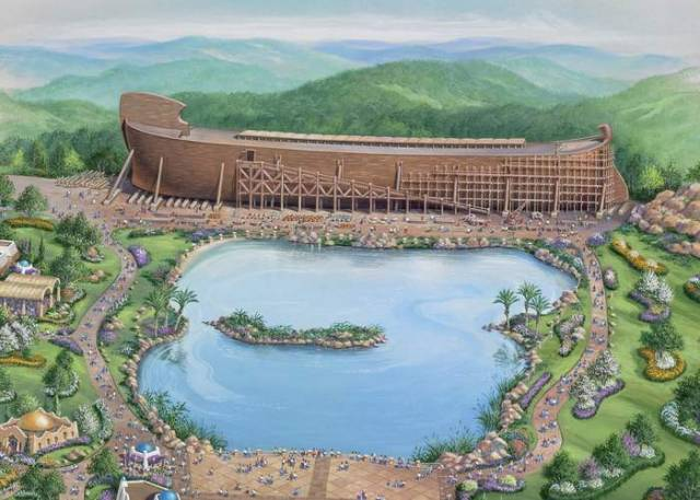 Noah's Ark in Theme Park