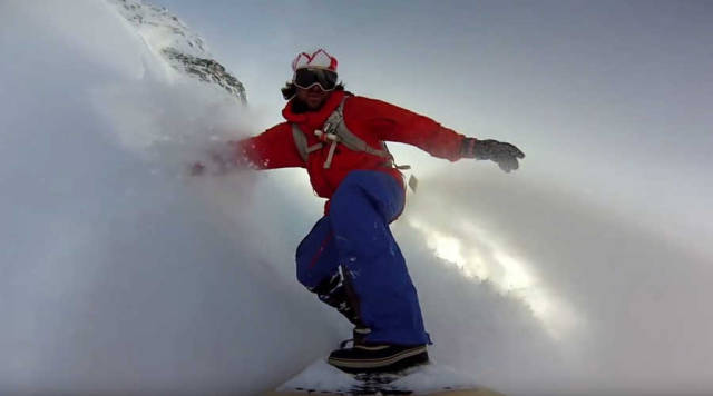 Powder Surfing