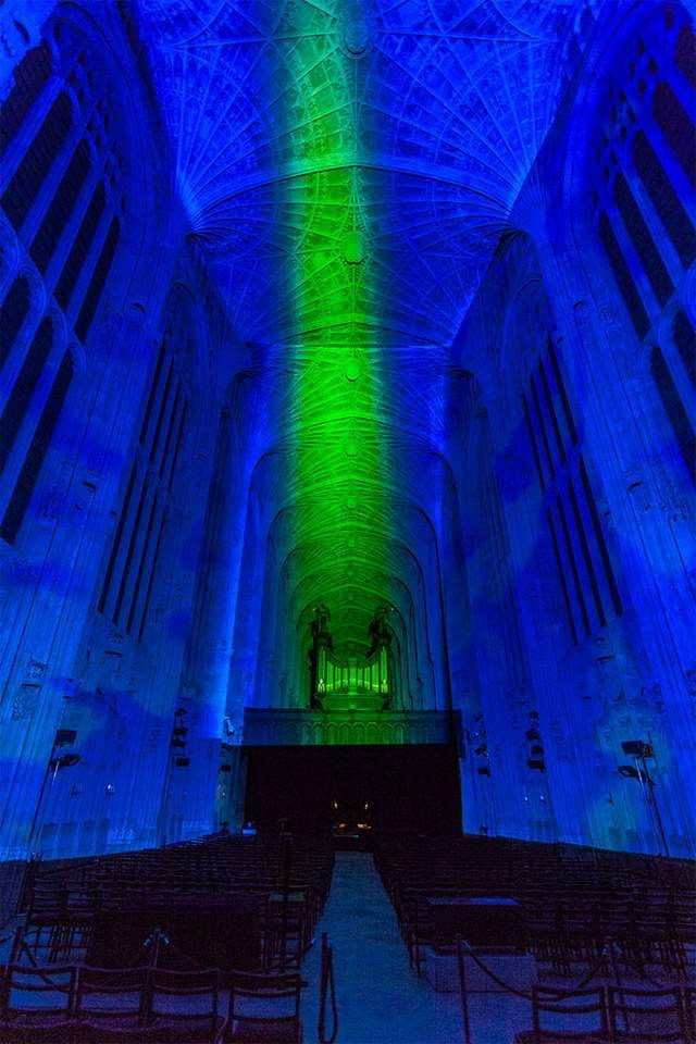 Projection Mapping on King's College Chapel (6)