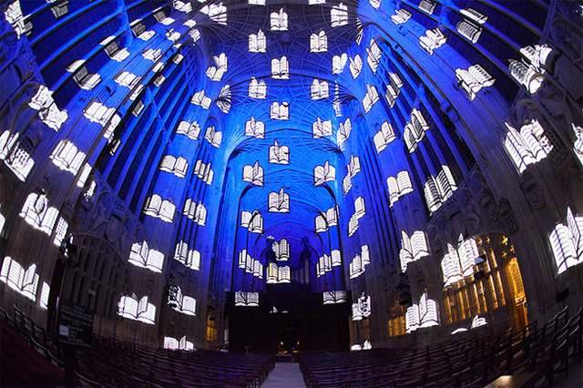 Projection Mapping on King's College Chapel (3)