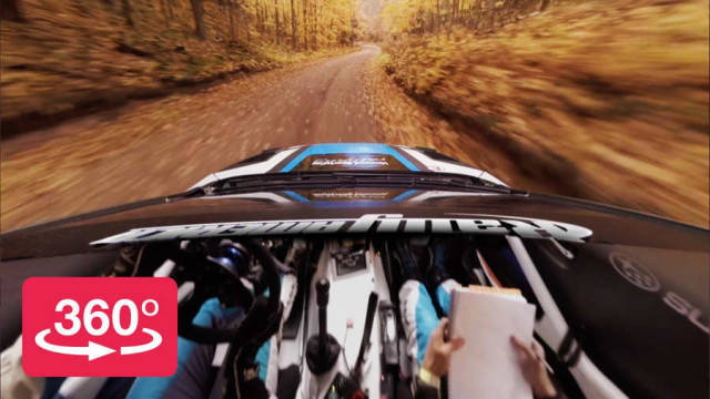 Rallying in 360 with Peer-Thru Technology