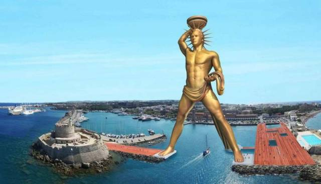 Rebuilding the Colossus of Rhodes