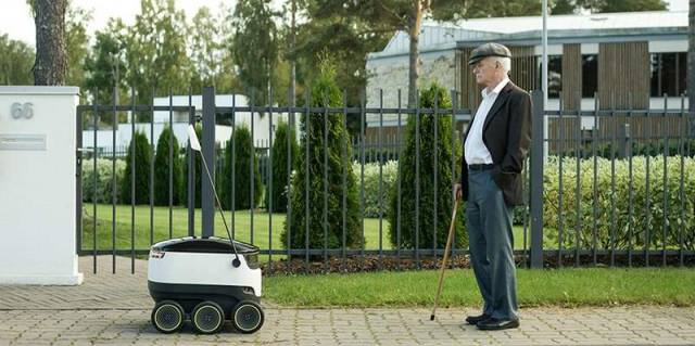 Self-Driving Delivery Robot (5)
