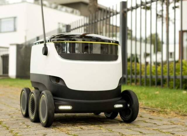 Self-Driving Delivery Robot (3)