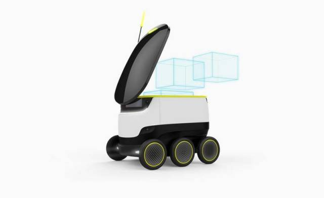 Self-Driving Delivery Robot (2)