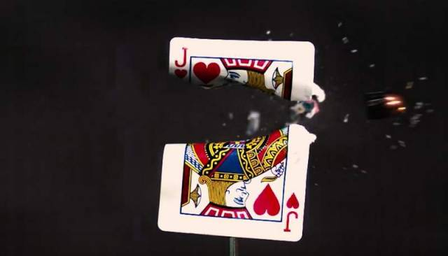 Slow Motion playing card