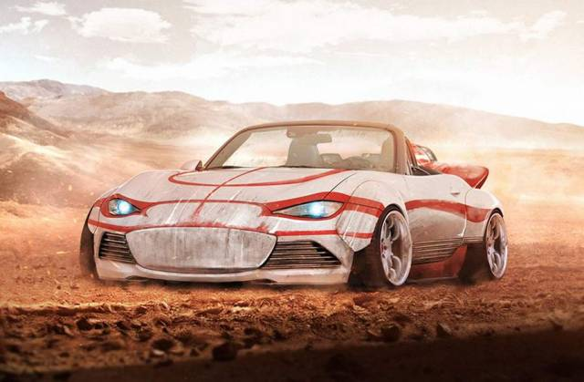 Star Wars characters as Sports cars (2)